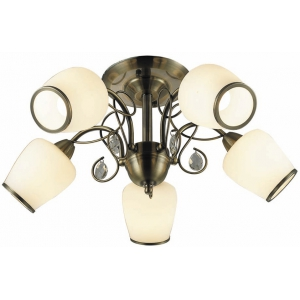 INL-6108C-05 Antique brass & Walnut
