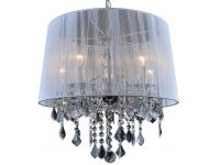 Люстра 720DS-5005-WH-5WH SILVER