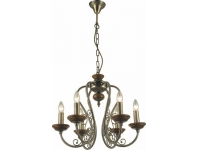 INL-6110P-06 Antique brass & Walnut