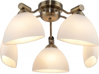 INL-9281C-05 Antique brass & Walnut