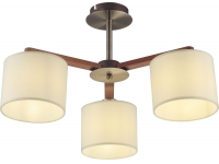 INL-9369C-03 Antique brass & Walnut