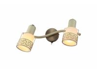 INL-9330W-02 Antique brass & Ivory